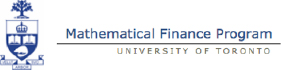 Mathematical Finance University of Toronto Logo